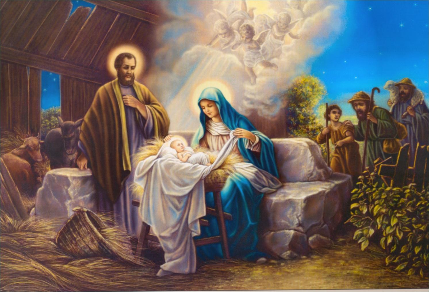 Прощай, христианские рождественские картинки на рабочий стол на весь экран